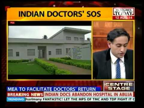 Centre Stage: Indian doctors forced to stay in Nigeria and treat patients