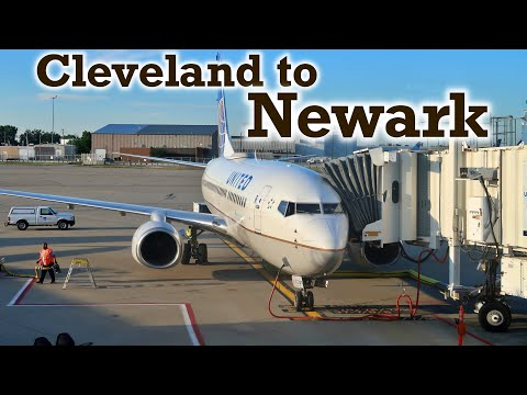Full Flight: United Airlines B737-700 Cleveland To Newark (CLE-EWR)