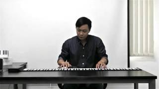 Sắc môi em hồng - Demo đàn piano cuộn (Starmart Roll up Piano) - Nuhula