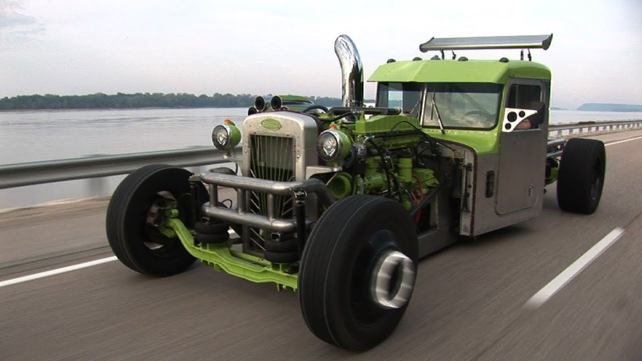 BAD A$$ Custom Peterbilt HOT ROD SEMI - YouTube