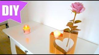 ✅ WOOD DIY - Geschenkidee für die Bandsäge - Blumenvase  einfach selber bauen