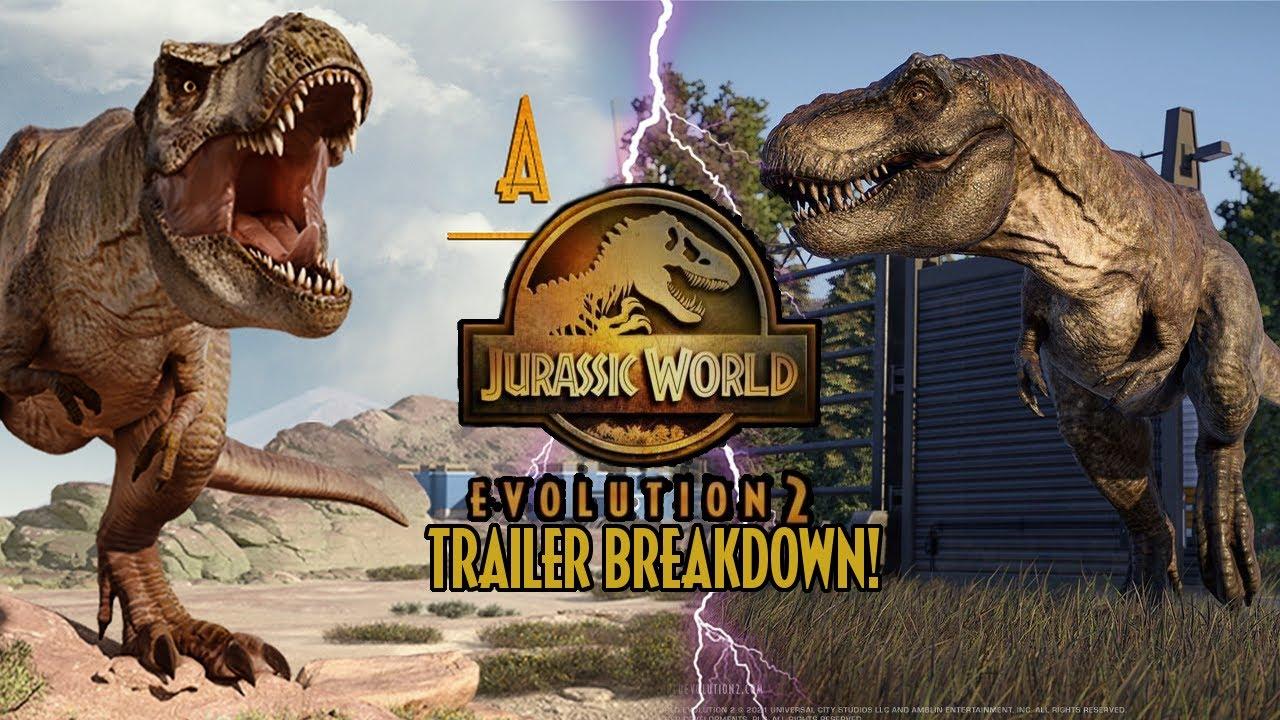 TRAILER BREAKDOWN! NEW SPECIES! - Jurassic World Evolution 2 Announcement Trailer!