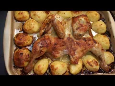 Цыпленок табака в духовке пошаговый рецепт с фото на