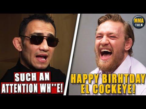 Tony Ferguson SLAMS Conor McGregor For Calling Him 'El Cockeye', Nate Diaz Slams Dustin Poirier, GSP