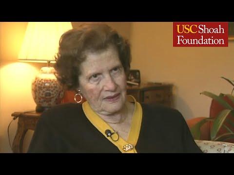 Jewish Survivor Maria Altmann On The Women In Gold