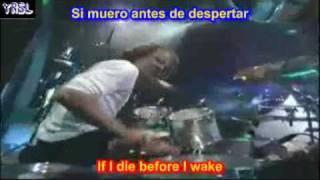 Metallica - Enter sandman (SUBTITULADA ESPAÑOL INGLES)