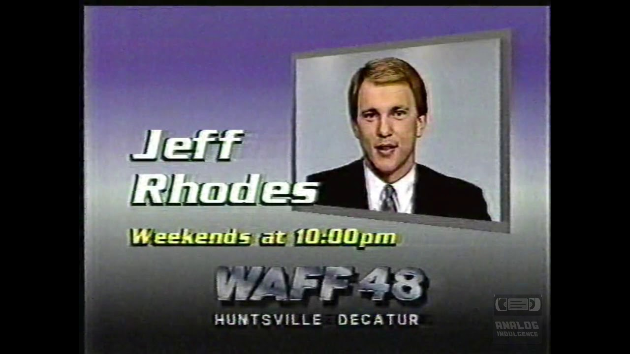 WAFF 48 News | Bumpers | 1986 | Anchors
