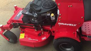 Gravely Pro-Stance 36 | First Impressions | Review