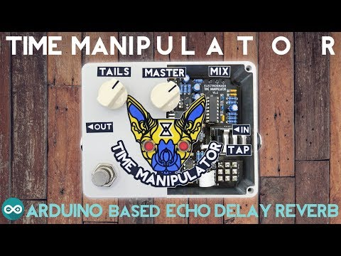 Time Manipulator - Arduino Based Delay Echo Reverb Guitar Pedal