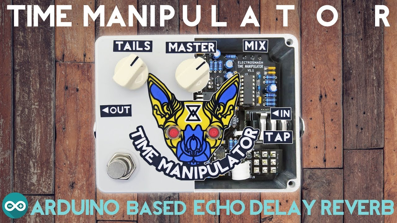 Time Manitor - Arduino based Delay Echo Reverb Guitar Pedal on eq pedal schematic, guitar tube preamp schematic, reverb pedal schematic,
