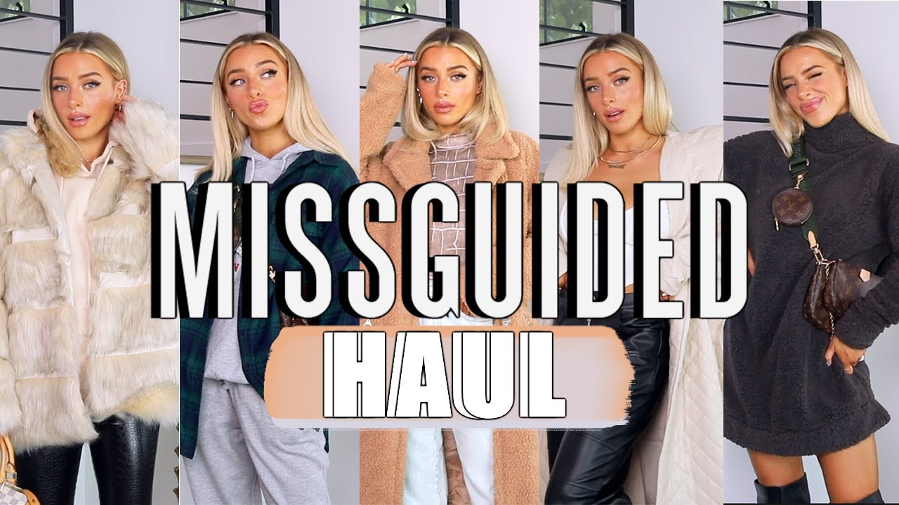 MISSGUIDED HAUL + TRY ON | EARLY WINTER MUST HAVES
