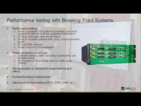 Next Generation Firewall Performance Testing