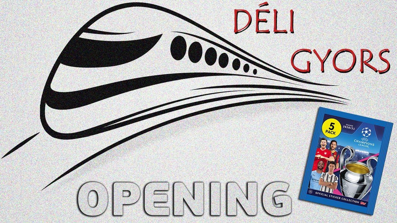 DÉLI GYORS: Champions League Stickers | Bajnokok Ligája matricák | OPENING