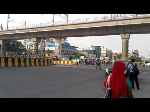 Delhi Metro station noida sector 16