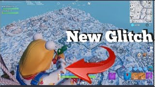 (EXCLUDED) Glitch Flying Above The MAP Fortnite