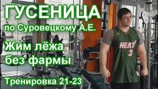 ГУСЕНИЦА по Суровецкому А.Е. Видео: 9