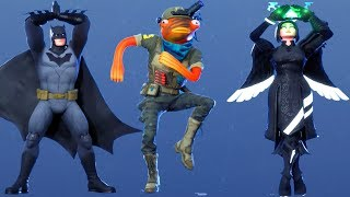 Fortnite All Dances Season 1-11 Updated to Feelin' Jaunty
