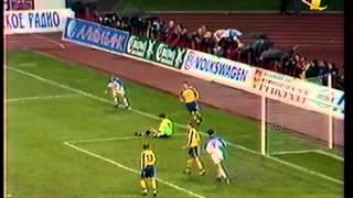 Россия - Украина 1:1. Отбор к ЧЕ-2000 (обзор).