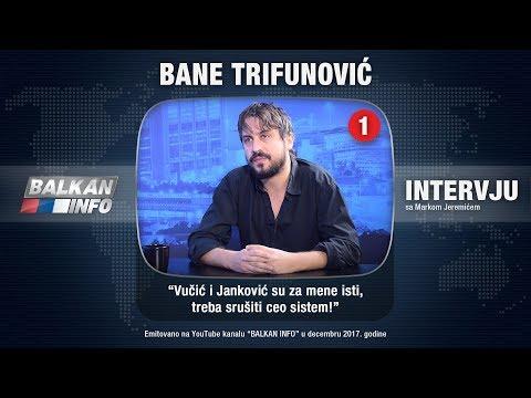 INTERVJU: Bane Trifunović - Vučić i Janković su za mene isti, treba srušiti ceo sistem! (25.12.2017)