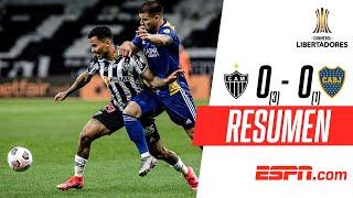 ¡POLÉMICA ELIMINACIÓN DE BOCA EN LA LIBERTADORES! | Atl. Mineiro (3)0-0(1) Boca | RESUMEN