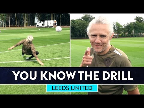 Jimmy Bullard gets floored! 🤣 | Leeds United | You Know The Drill