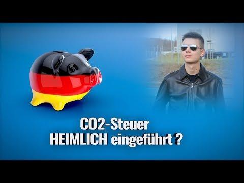 UNGLAUBLICH! CO2-Steuer HEIMLICH eingeführt?