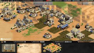 AGE OF EMPIRES 2 - EXPERT PLAYERS - MbL vs HERA ! ARABIA #1