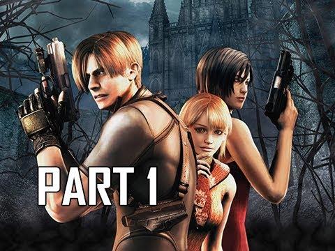 Resident Evil 4 Remastered Gameplay Walkthrough Part 1 Leon
