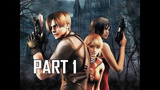 Resident Evil 4 Remastered Gameplay Walkthrough Part 1 - Leon Kennedy (RE4 Let's Play Commentary)