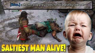 """For Honor - """"The Saltiest Man Alive & Teabaggers Lose!""""...More Rage Quits!!! - (Orochi Salt)"""