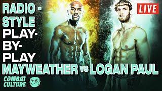 Floyd Mayweather Vs. Logan Paul Live Stream, Radio-Style PBP | Main Card Commentary