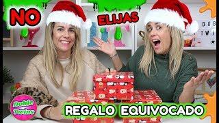 NO ELIJAS EL REGALO NAVIDAD EQUIVOCADO SLIME! Don't Choose the Wrong Christmas Gift Slime Challenge