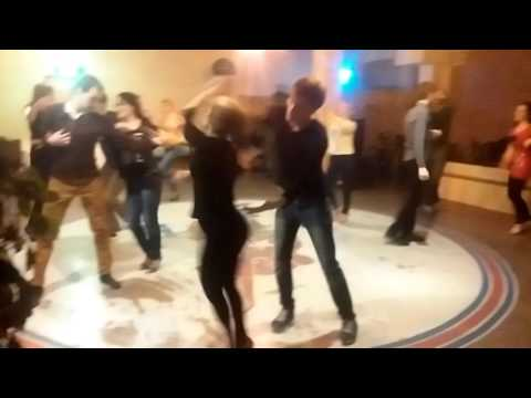 Anna Sotnyk & Ivan Kravchenko salsa social art coffee