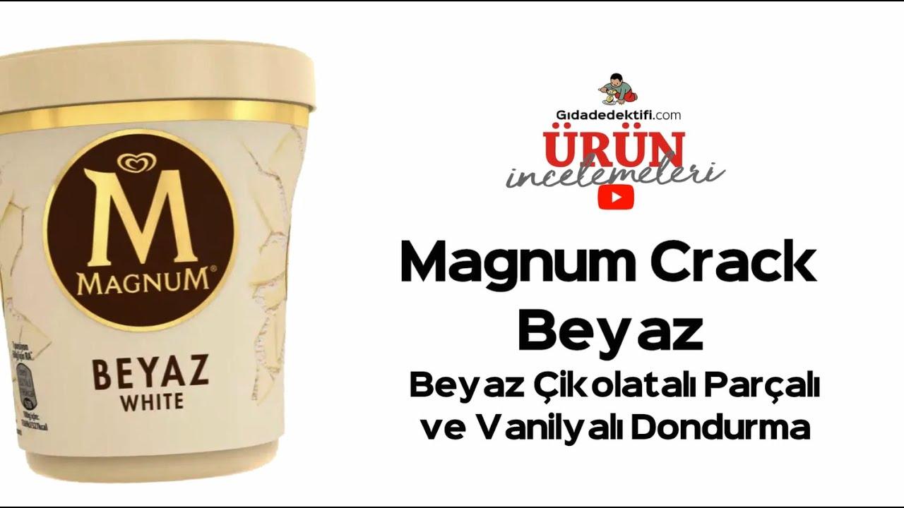 Magnum Crack Beyaz #Ürünİncelemesi