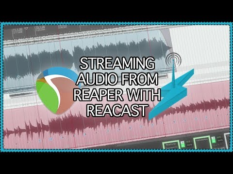 Streaming Audio from REAPER with ReaCast | internet radio - SHOUTcast