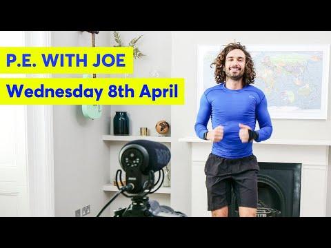 Wednesday 8th April - PE With Joe