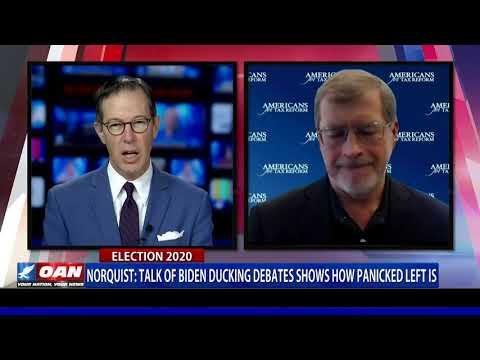 Norquist: Talk of Biden ducking debates shows how panicked left is