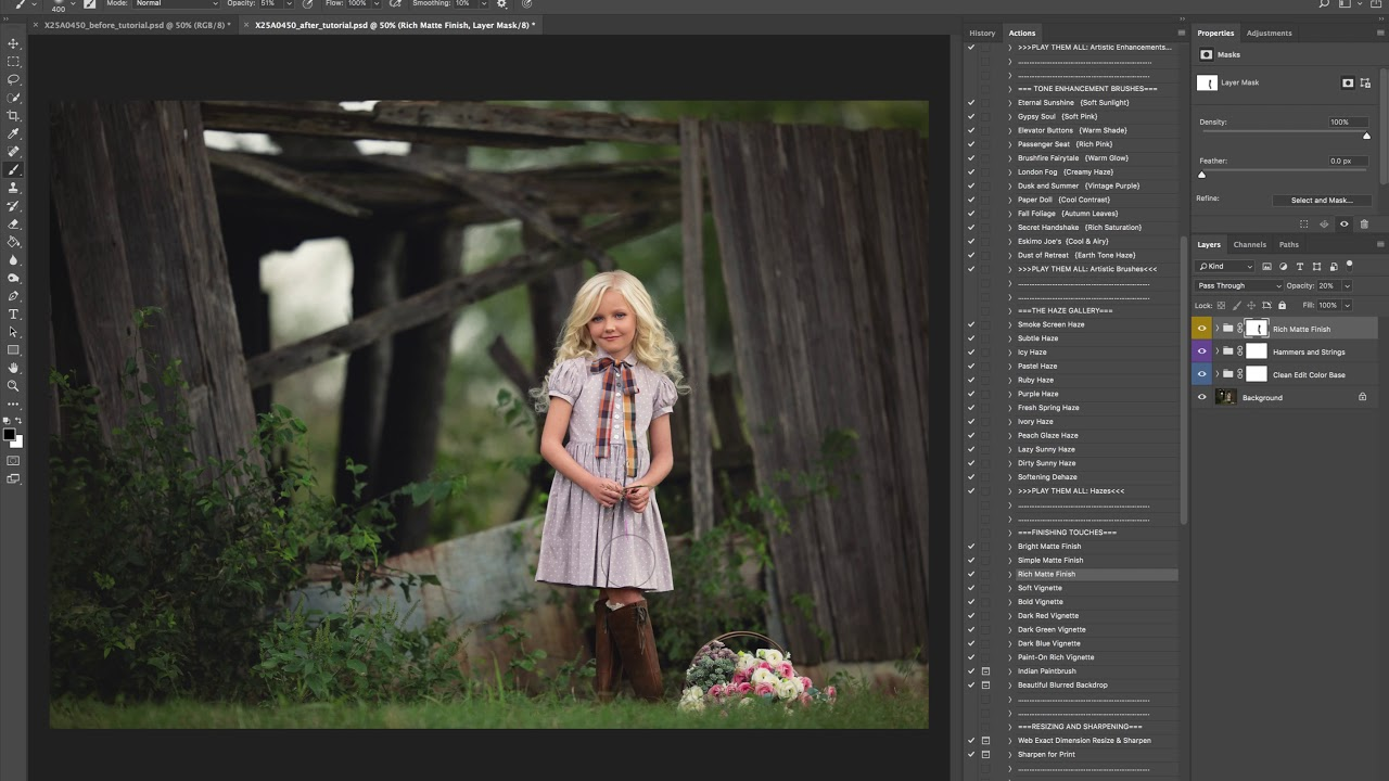 The Radiance Collection Photoshop Actions