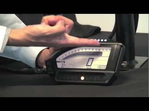 Dashboard Demo Honda CBR1000RR Fireblade 2012