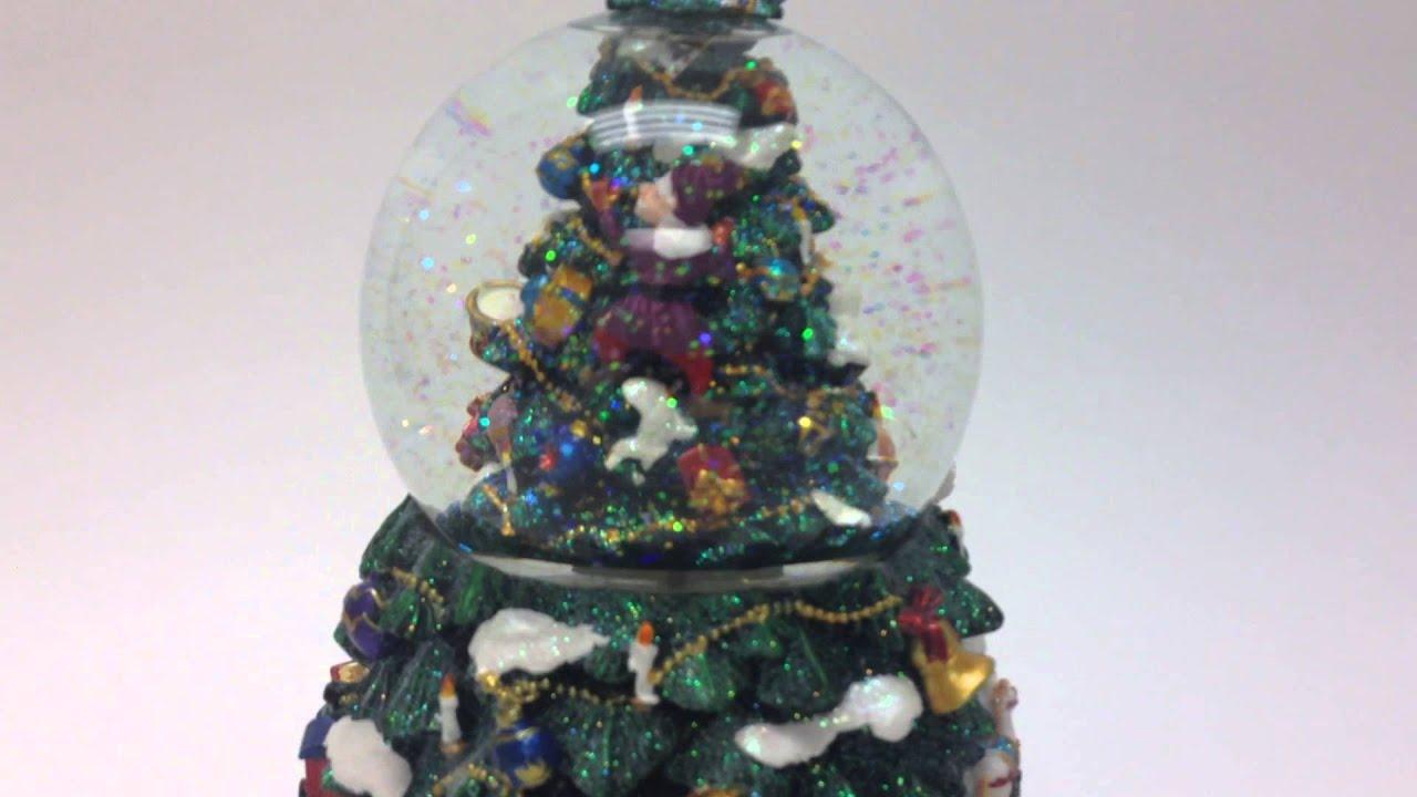 Musical Rotating Christmas Tree Snow
