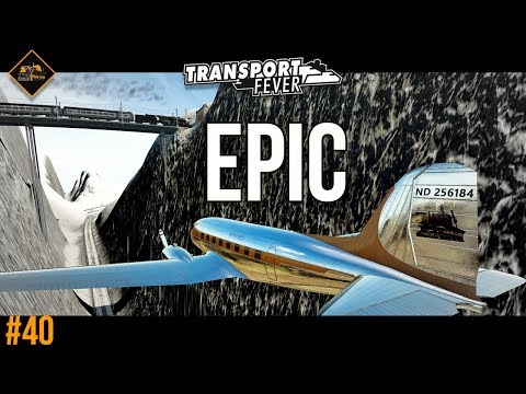Completing the epic mountain route | Transport Fever The Alps #40