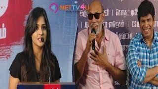 Actress Remya Nambeesan Open Talk About Sathya Movie Press Meet   Actor Sibiraj