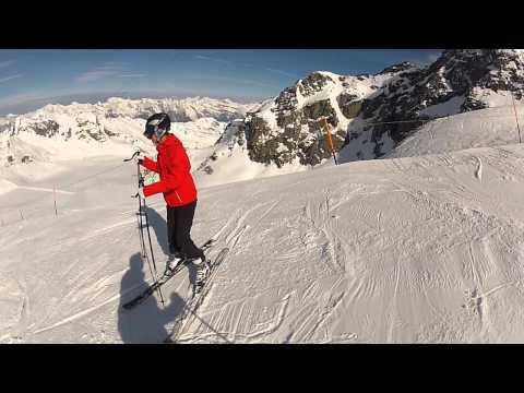 ski @Verbier  -- Mont-Fort