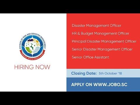 JOBO Jobs Listing on 24th September 2018