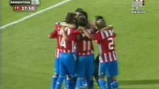 Paraguay 1 vs. Argentina 0 Eliminatorias Sudáfrica 2010 [3/4] Arturo Rubin