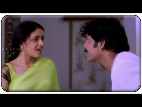 Anshu And Nagarjuna Romantic Love Scene || Manmadhudu Movie