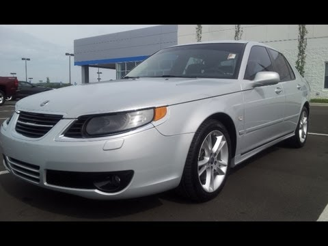 Sold 2008 Saab 9 5 2 3 Turbo Sedan 1 Owner 55k Snow Silver Automatic For 855 507 8520 You