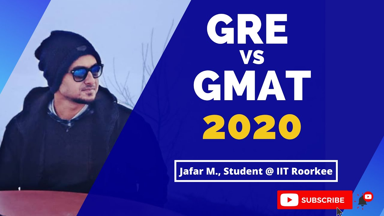 Know the difference between GRE 2020 and GMAT 2020 | Unique Candidate Oriented Analysis | Home Test