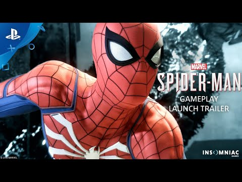 Marvel's Spider-Man – Gameplay Launch Trailer | PS4