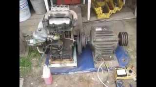 видео Самодельный генератор из асинхронного электродвигателя